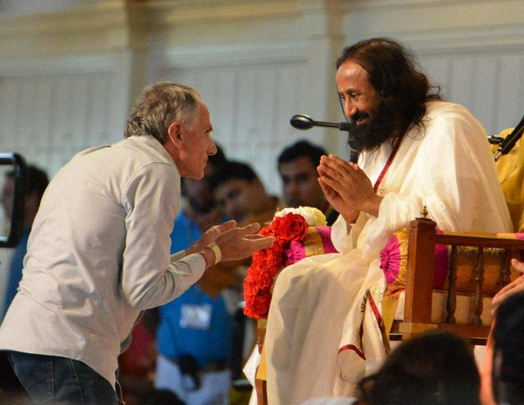 Sri Sri Ravi Shankar, Boone, 2012