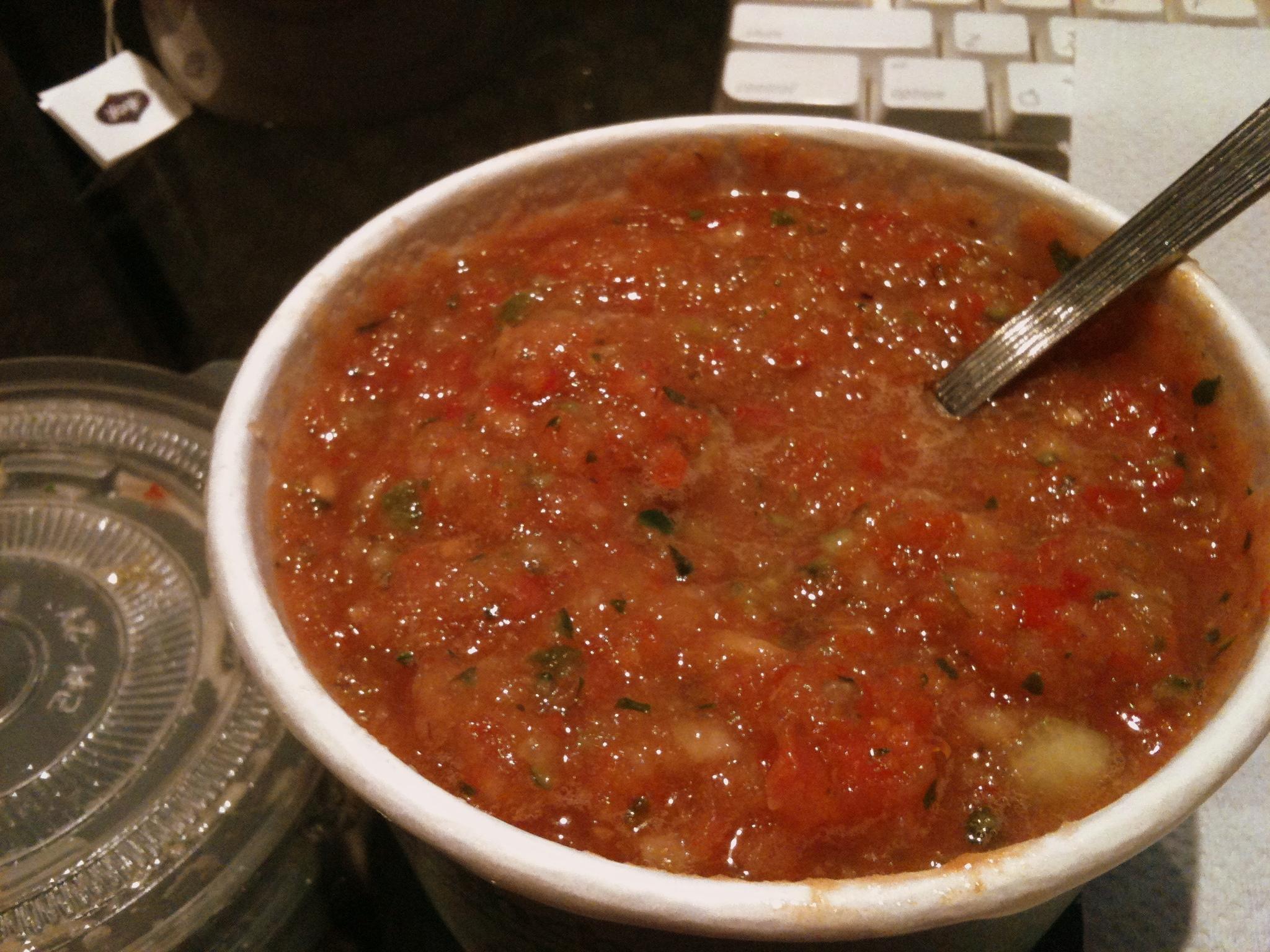 Chilled Tomato Gazpacho