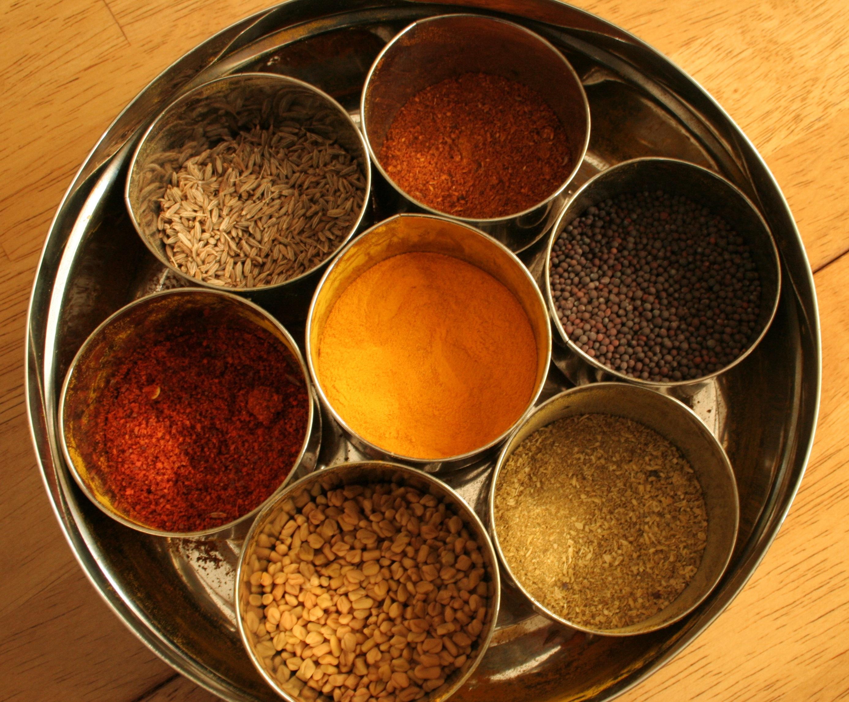 Presenting the Masala Dabba... Spice Box! | The Rich Vegetarian